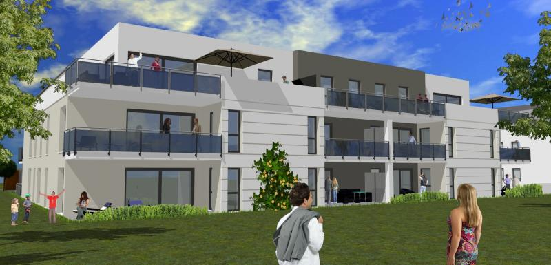 Neubauprojekt mit 18 behaglich-eleganten Wohnungen, Aufzug und Tiefgarage
