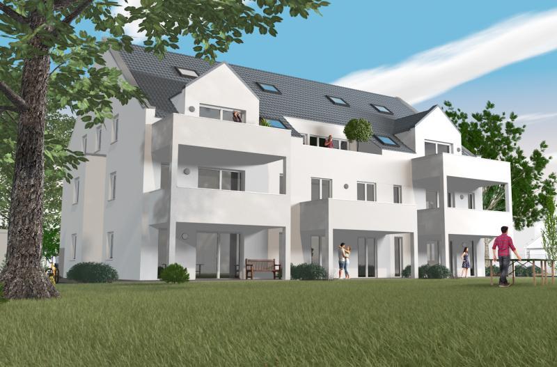 Niveauvolle Wohnungen in eleganter Architektur - Neubau mit Aufzug in ruhiger Ortslage von Limbach